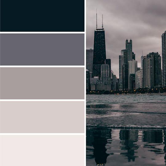Cityscape Color Palette - Brand Board Template