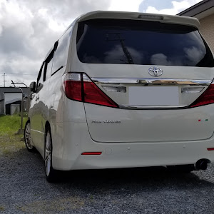 アルファード ANH25W 親車 240S タイプゴールド 4WDのカスタム事例画像 青森県のタイプゴールドさんの2019年06月12日07:53の投稿