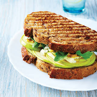 Grilled Pear & Blue Cheese Sandwich.