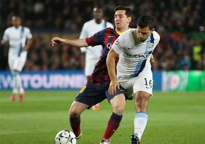 L'indice d'Aguëro qui pourrait laisser penser une arrivée de Messi à Manchester City