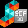SDF 3D icon