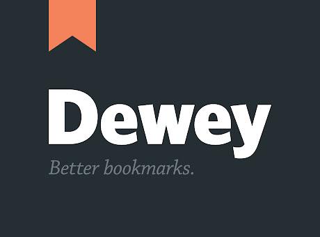Dewey Bookmarks