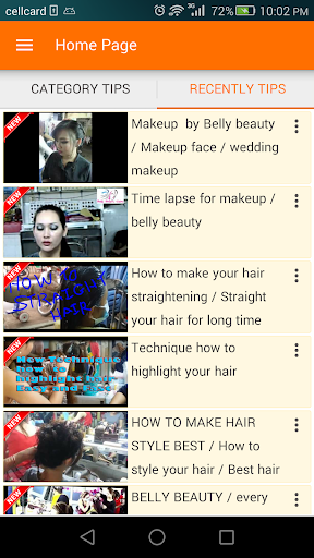Video Beauty Tips