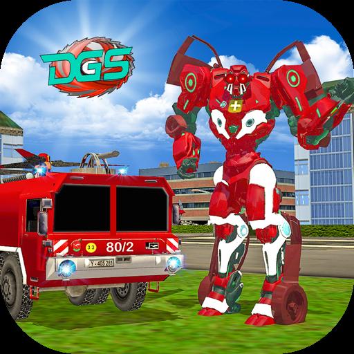App Insights: Real Robot Firefighter Truck : Robot Super