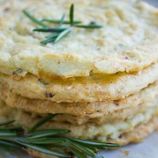 Mashed Potato Rosemary Crisps.