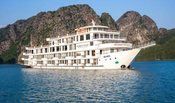 Du thuyền President sẽ giúp bạn có được một chuyến đi đầy hấp dẫn và thú vị
