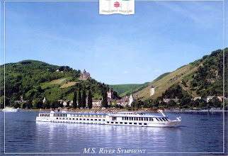 Photo: This was our gallant cruise ship - the MS River Symphony, owned by Grand Circle Travel.