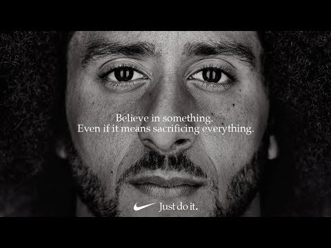 The original Nike advert that started a viral trend.