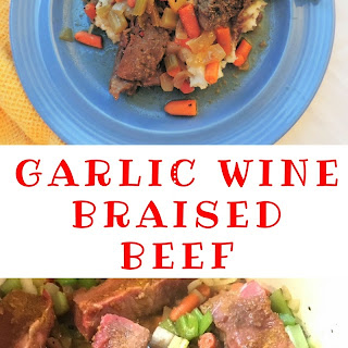 Garlic Wine Braised Beef -- Wildtree Wednesday