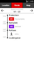 Screenshot of Vienna Subway & Bus