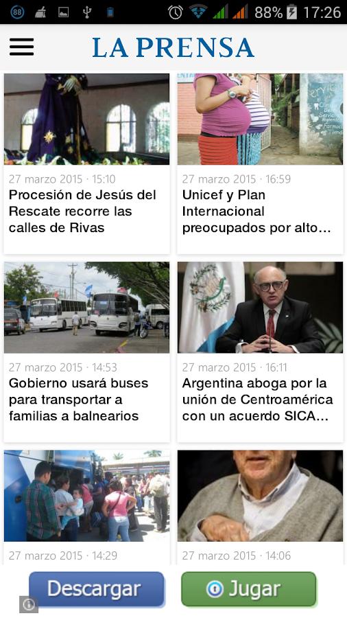 La Prensa Nicaragua - screenshot