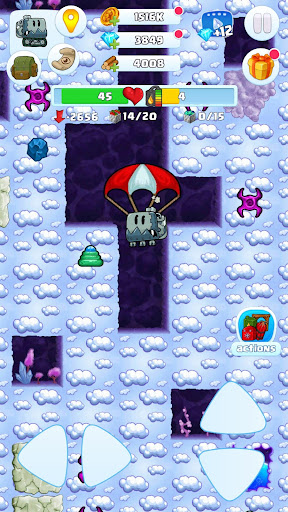 Digger 2: dig and find minerals android2mod screenshots 4
