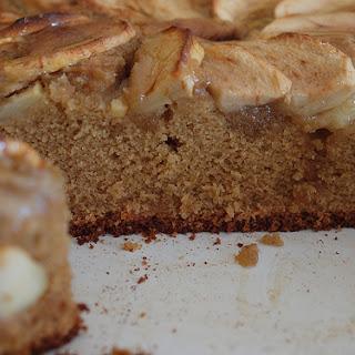 Toffee Apple Tea Cake.