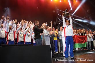 Photo: Trophée Patrick de Gayardon, La France sacrée meilleure nation parachutiste au Monde @ Dubai, WPC 2012