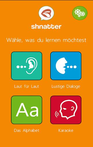 shnatter: Deutsche Aussprache