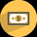 One dollar donation icon