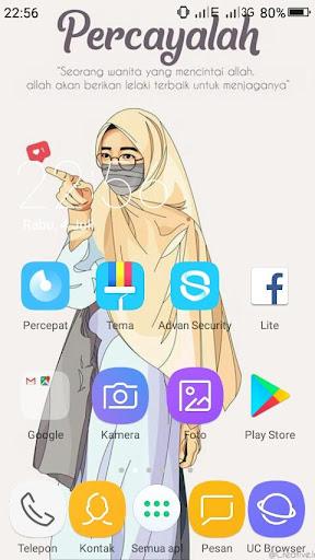 Cartoon Muslimah Wallpaper Hd Apk Download Apkpure Co