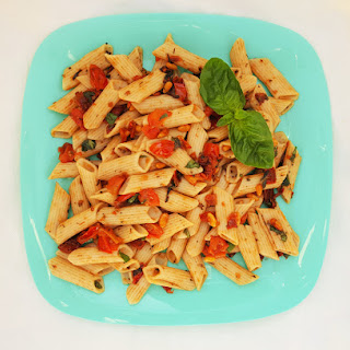 Sun-dried Tomato and Basil Pasta Salad