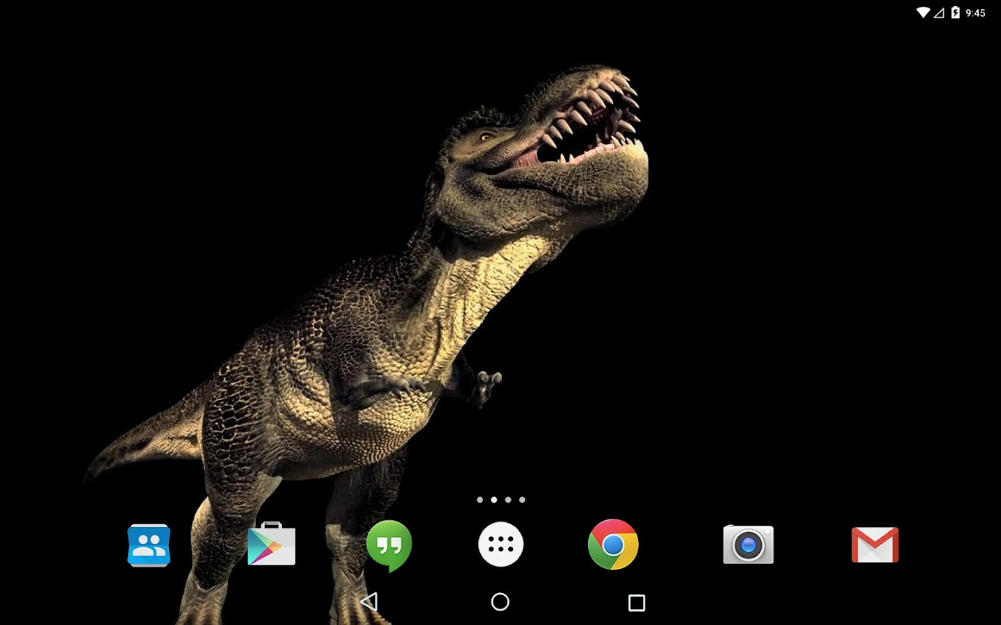 dinosaur live wallpaper for android