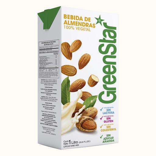 bebida greenstar almendras 1lt