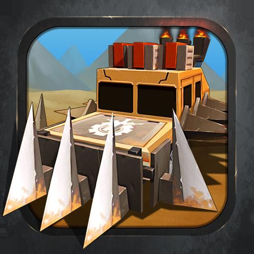 瘋狂的戰車 賽車遊戲 App LOGO-APP試玩
