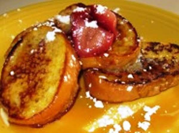 French Toast Baked In Grand Marnier Recipe
