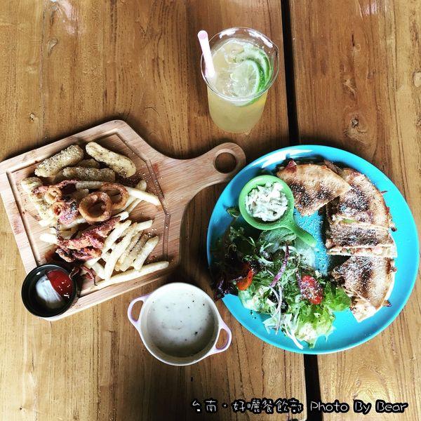 好曬餐飲部 Pasta &Brunch(老宅咖啡館/工業風/早午餐/義大利麵/灰藍色牆面)