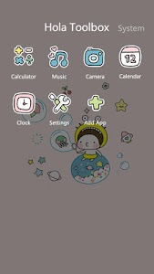 Bebe Bubbles - Hola Theme screenshot 3