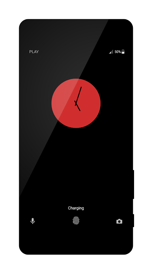 Black Red Premium Theme- screenshot