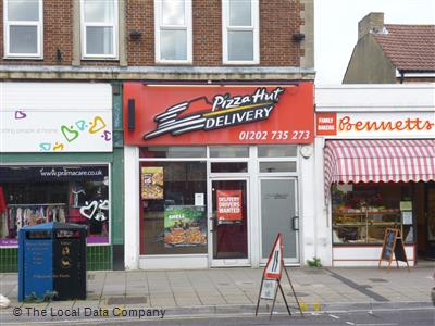 Pizza Hut Delivery On Ashley Road Pizza Takeaway In