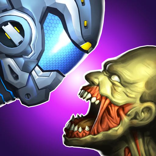 Robots Vs Zombies Attack