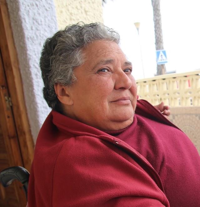 Maty Rodríguez, guitarrista y profesora.