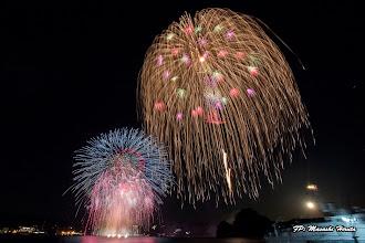 Photo: 15年振りの復活 二尺玉 (阿部煙火工業) &下田黒船祭 名物 ドラム缶花火