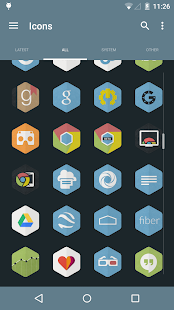 Hexacon - Icon Pack- screenshot thumbnail