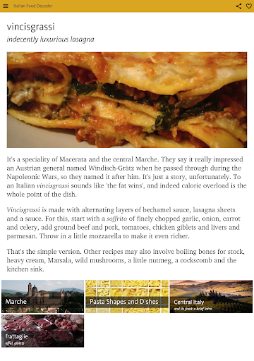 Italian Food Decoder screenshot 14