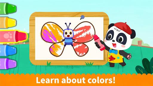 Baby Panda's Coloring Book apkpoly screenshots 3