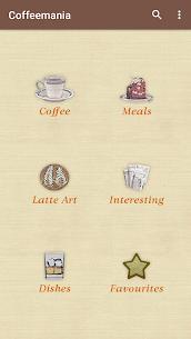 Coffeemania — coffee recipes 1