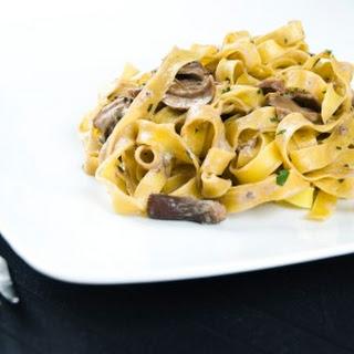 Mushroom Fettucine Alfredo
