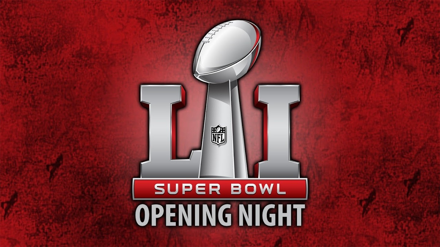 Watch Super Bowl Opening Night live
