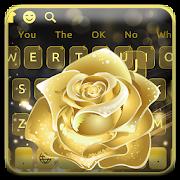 Gold Rose Keyboard