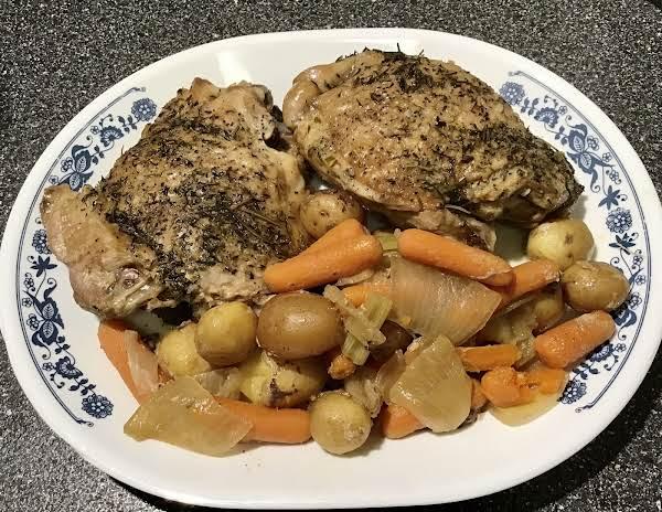 Turkey Thighs Pot Roast Style (slow Cooker)