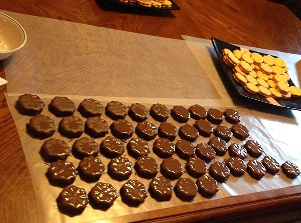 Next we need to melt the almond bark. I use one flavor at a...