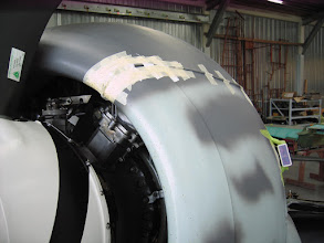 Photo: PB-3 taped to FW 190 cowling