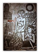 """Photo: Antonio Berni Taco para """"Juanito pesca con red"""" 1962. 150 × 105 cm. Madera y metal. Colección particular, Buenos Aires. Expo: Antonio Berni. Juanito y Ramona (MALBA 2014-2015)"""