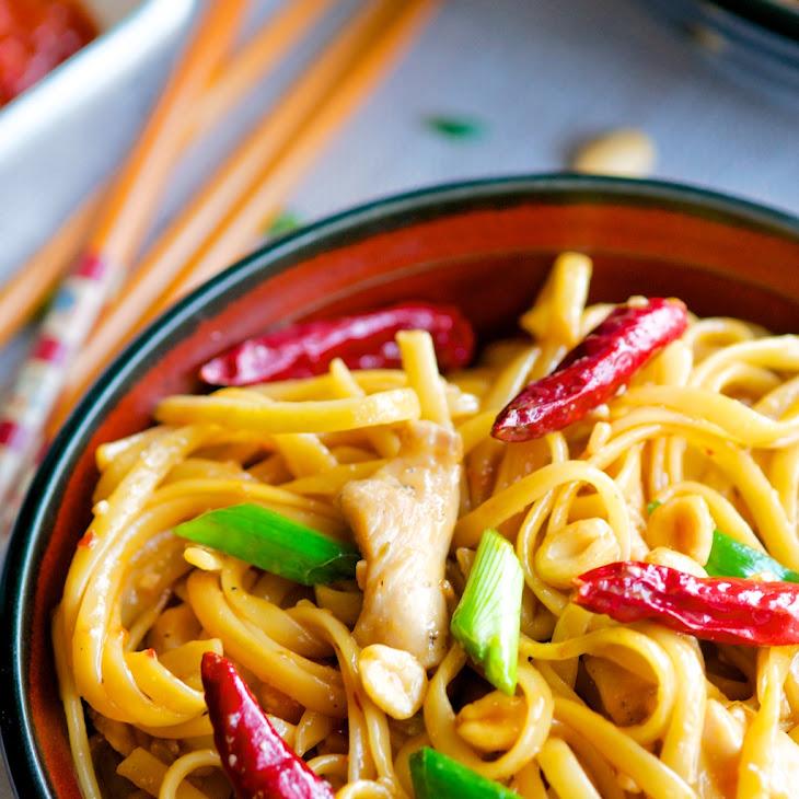 Asian Italian Fusion - CPK's Kung Pao Chicken Pasta