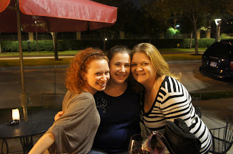 Photo: Jennifer, me and Kristi had a wonderful evening1