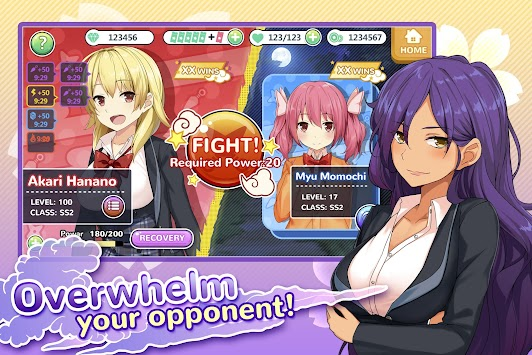 Moe! Ninja Girls apk screenshot