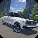 Russian Car Lada 3D icon