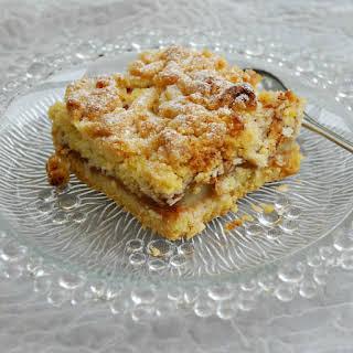 Sugar Free Rhubarb & Apple Pie.
