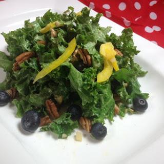 Spicy Hummus Kale Salad